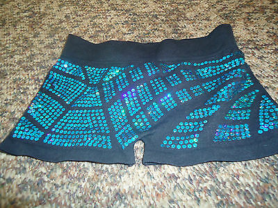Girls Spandex Dance Shorts One Size fit  by Idea