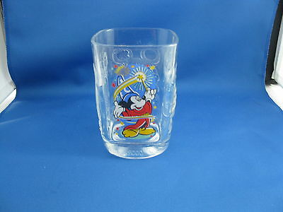 Mickey Mouse Mcdonalds 2000 Epcot Drinking Glass