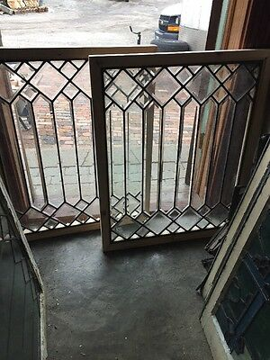 Sg 11562 Available Price Separate Antique All Beveled Zinc Window
