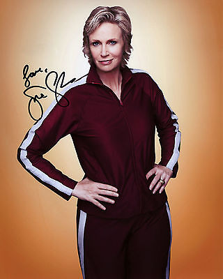 Jane Lynch - Sue Sylvester - Glee - Signed Autograph REPRINT