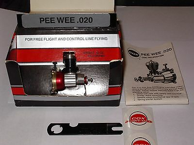 Cox .020 Gas Engine  New in Box