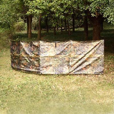 360 * 90cm Outdoor Portable Camouflage Hunting Ground Blind L4J6