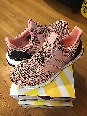 3a1c0d498 New Adidas Ultra Boost Salmon Pink Still Breeze Women Size W9 S80686 SOLD  OUT