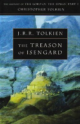 The Treason of Isengard (The History of Middle-earth, Book 7) Copertina flessibi