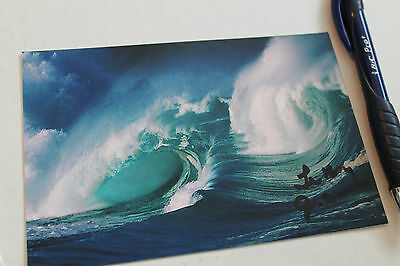 Vintage Surfing Photo LeRoy Grannis Autographed 4x6in - Hawaii Waves Photograph