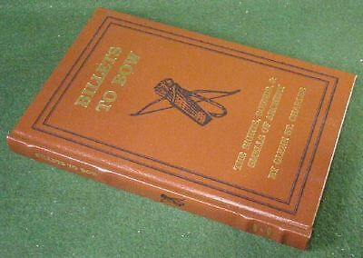 DELUXE LEATHER BOUND Numbered St. Charles BILLETS to BOW Longbow Archery BOOK
