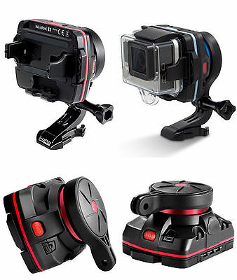 Wenpod X1 GoPro camera wearable one-axis stabilizer bikes MotoGP + action sports