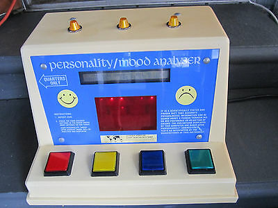 Coin Orprated Vintage Personality/mood Analyser ( Rare )