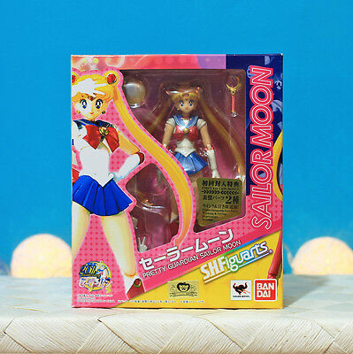 RARE / S. H. Figuarts - Sailor Moon First Press Limited Edition / 6 Faces Figure