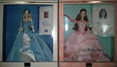 BARBIE Grand Entrance Set Collector Edition 2 Dolls SEALED NEW NRFB
