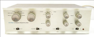 Dynaco PAS-3 Stereo Tube Preamplifier, Original, Clean