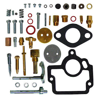 New Comprehensive Carburetor Repair Rebuild Kit IH Farmall H HV W-4 Tractor
