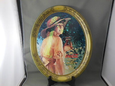 1976 Coca Cola Coke Tray WWI Girl Reproduction of 1916