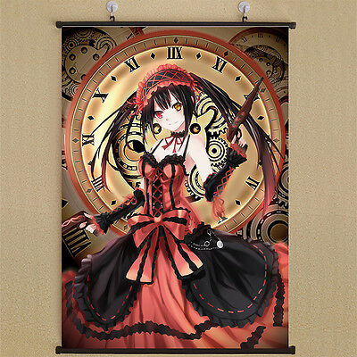 """8/""""*12/""""Home Decor Japan Anime DATE A LIVE Cosplay Wall Poster Scroll D14"""