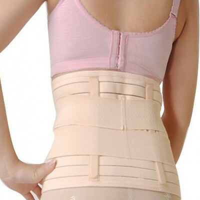 Post Natal Belly Tummy Support Belt Slim Girdle Corset Abdominal Binder DG