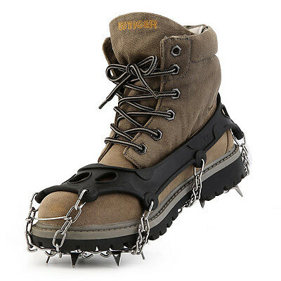 OUTAD High Quality TPR Hiking Traction Cleats/Crampons For Snow And Ice DG
