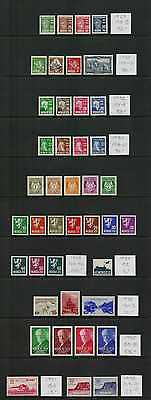 Norway Collection Lot 1929-1938 All in Complete Sets VF Mint NH SCV $570.50