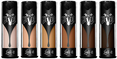 Kat Von D FOUNDATION Lock-It Foundation Made in Italy choose your shade