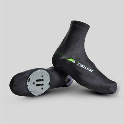 M/L Bicycle Bike Windproof Shoe Covers Cycling Zippered Overshoes Sportwear DG
