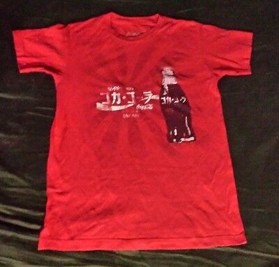 Coca Cola Japan Men's Red Shirt Size Small