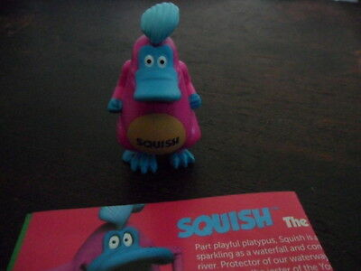 Yowie Yowies US Series 2 * BRAND NEW, * SQUISH * + PAPERS