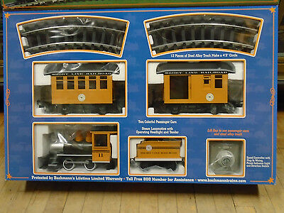 BACHMANN G SCALE TRAIN #90197 Complete Lil Big Haulers Short Line Set NEW IN BOX