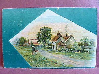 Old Trade Card Lion Coffee Woolson Spice Co, Toledo OH Cottage