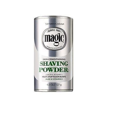 Magic Shave Skin Conditioning Shaving Powder 127g UK Seller free delivery