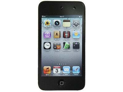 US Seller iPod Touch 4th Generation 8GB Black MP3 Player & 90 Days Warranty