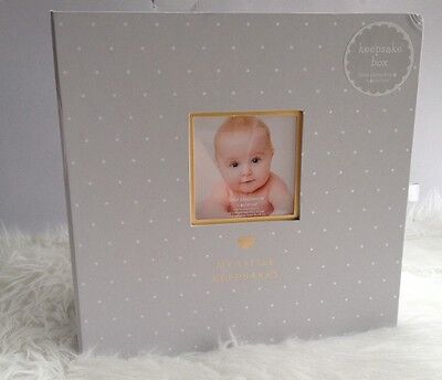 New Baby Keepsake Box First Tooth Hair Shoes Photo Curl Boy Girl Gift Mom Love