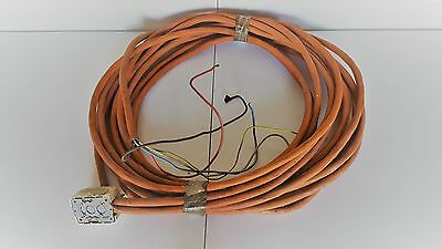 3 Phase 16mm2 orange electrical cable (Aust) - 4 core+E (16LM + 5LM)