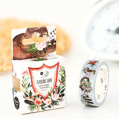 Wild west Insight Guides flowers Washi Masking Tape paper stickers Label gift