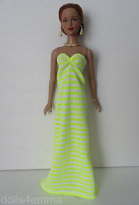 Maxi Dress and Jewelry Set Handmade for Tonner 16in TYLER and friends NO DOLL