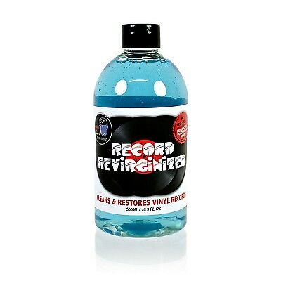 Record Revirginizer Liquid: Cleans & Restores Vinyl Records