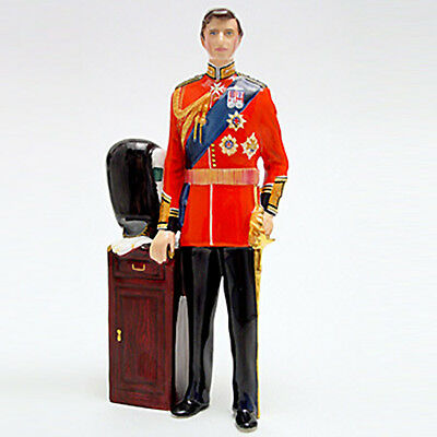 "Charles Prince of Wales HN2884 7.75"" tall Royal Doulton NEW ORIGINAL BOX #1154"