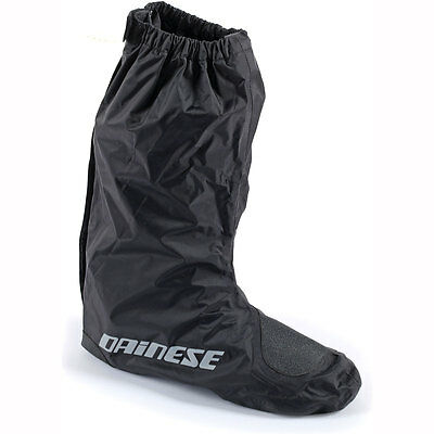 Motorcycle Dainese D-Crust Overboots WP - Black UK Seller