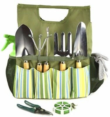Plant Theatre Essential Garden Tool Bag - Includes Tools - Gift for the Gardener