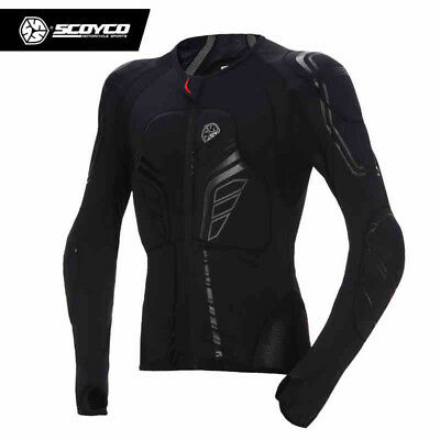 Scoyco Men's Motorcycle Motocross Racing Jacket Armor Protective Gear Protector