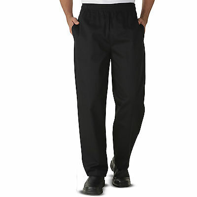 Chef Trousers Pants Excellent Quality Black Trousers 3 Pockets for UNISEX