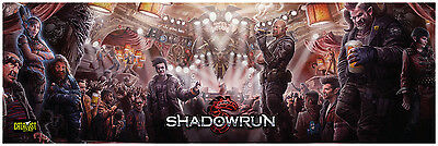 The Shadowrun 5th Edition Role Playing Game - GM Screen - Brand New