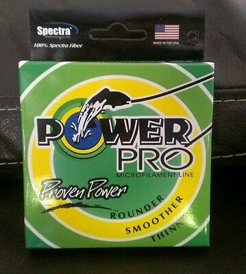 Power Pro Fishing Braid Line 30lb 300 Yards - Green