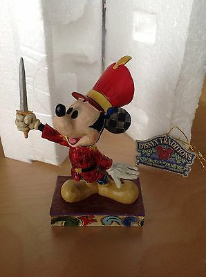 "Disney Traditions ""Mickey As The Nutcracker"" Figur Show Case Collection Enesco"