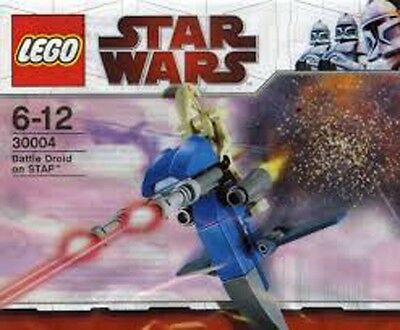 30004 - LEGO Star Wars - Brand New Unopened Polybag Set - Battle Droid on STAP