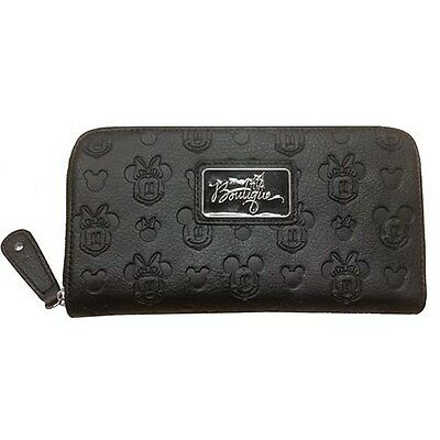 Disney Parks Boutique Embossed Mickey and Minnie Mouse Wallet