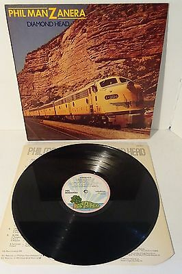 PHIL MANZANERA DIAMOND HEAD 1975 ISLAND 1st UK PRESS LP w/inner, also Roxy Music