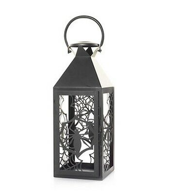 New Yankee Candle Spider Web Collection Lantern Jar Candle Holder, Halloween