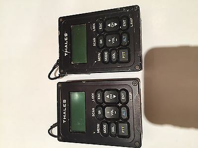 2x THALES  PRC-148 MBITR  ADAPTER REMOTE