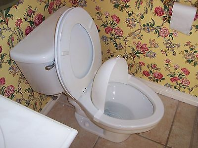 The Splatter Shield  POTTY TRAINER (clip on pee shield for toilet)
