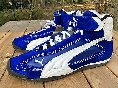 PUMA GRIT CAT CO PRO blue white black 45 US 11,5 UK 10,5 NEU Mostro SPARCO NEW