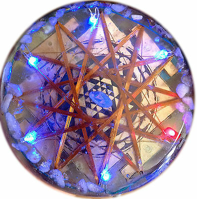 Water and Food Ionizer USB Orgone Charging Plate Energize Orgonite Metayantra